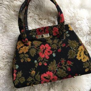 Embroidered Vintage Handbag